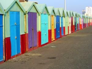 Beach Huts -Brighton